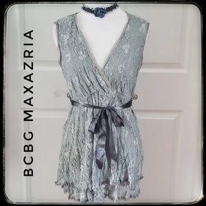 BCBG MAXAZRIA Lace Top